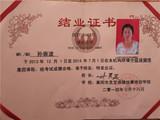 中级学员证书-2013